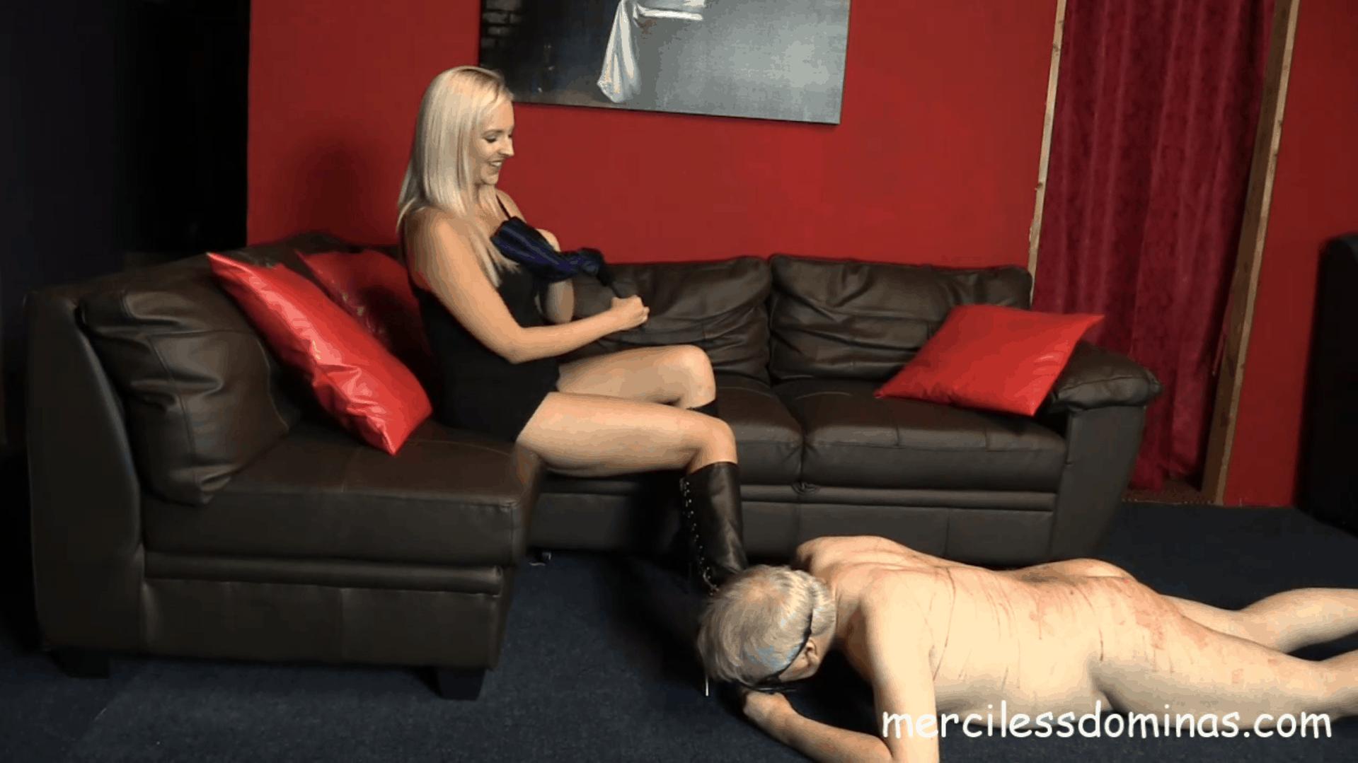 Boot Slave For Princess McKenzie