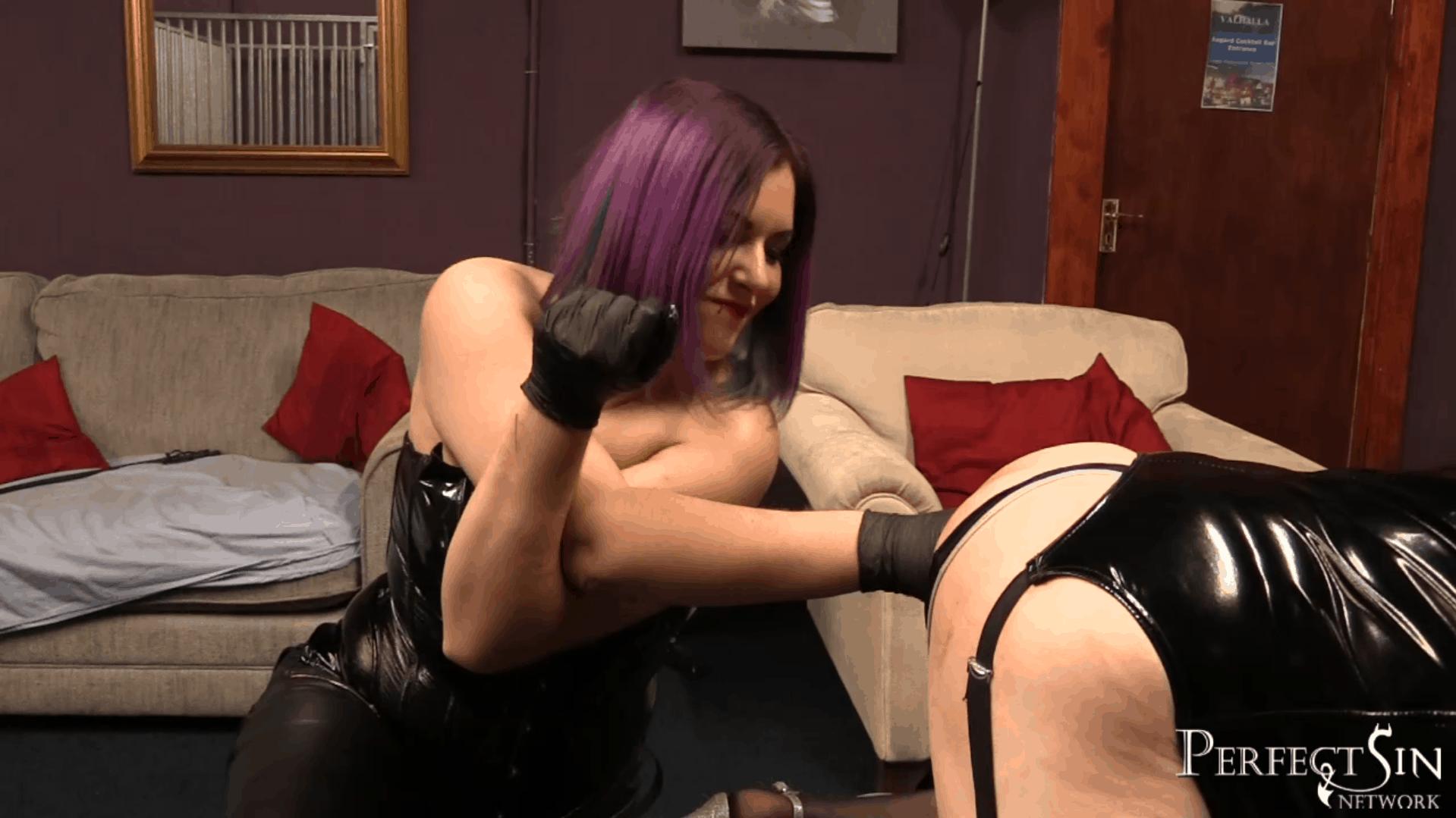 Domina Jemma's Sissy Fucked And Humiliated