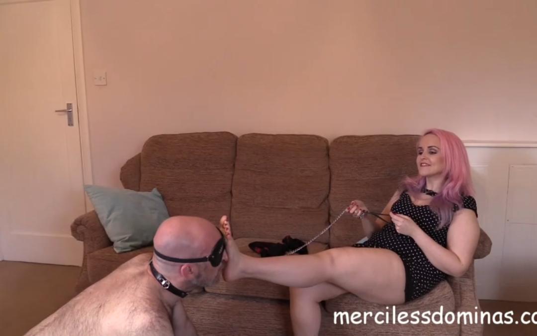 Foot Fetish And Verbal Humiliation
