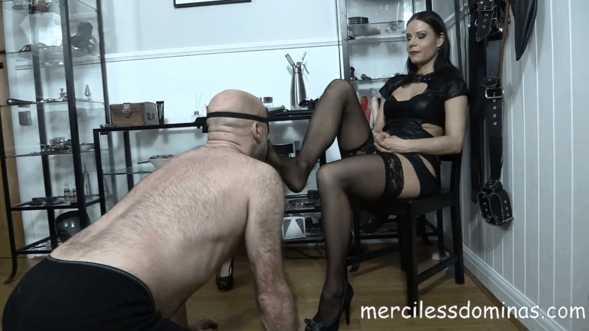 Foot Fetish for Lady G