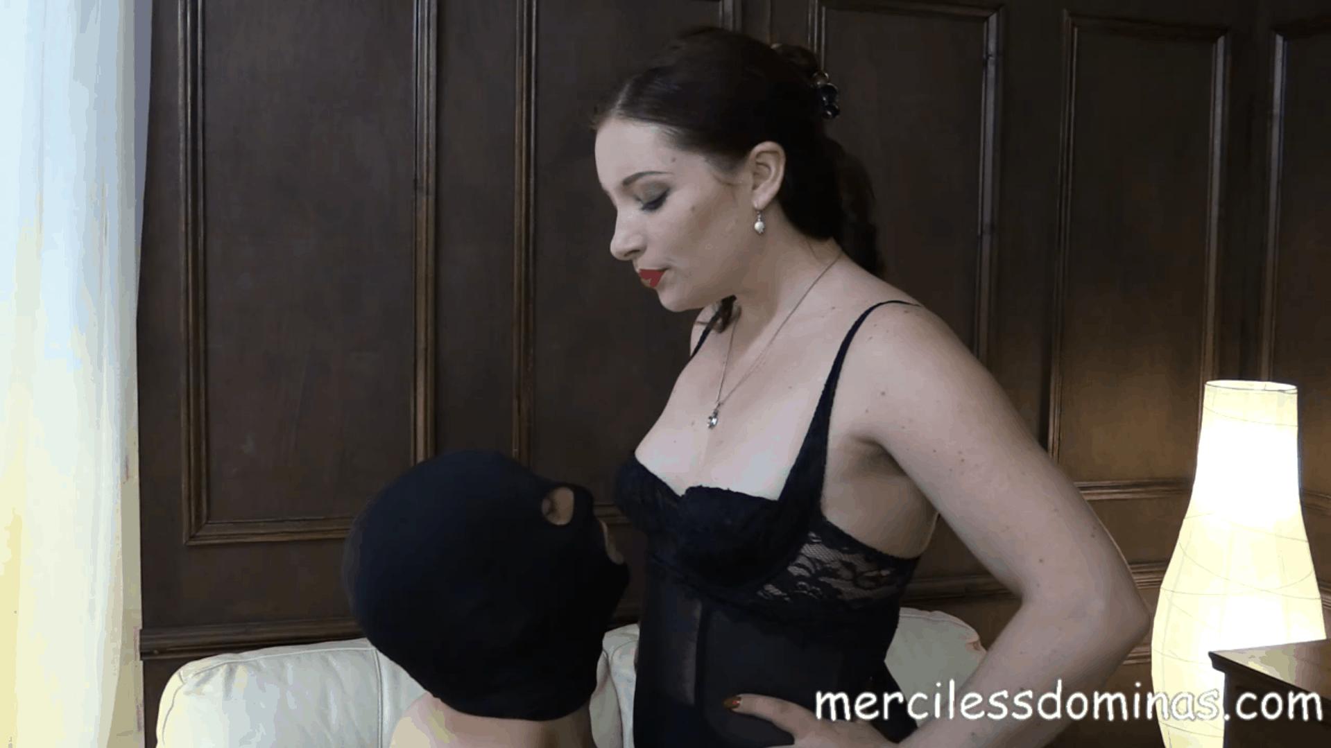 Goddess Sophia Humiliates Her Slave